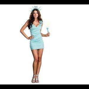 Miss Liberty sexy costume medium NEW